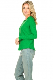 American Vintage |  Basic cotton T-shirt Sonoma | bright green  | Picture 5