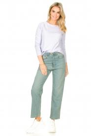 American Vintage |  Basic cotton T-shirt Sonoma | lilac  | Picture 3
