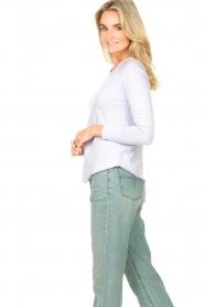 American Vintage |  Basic cotton T-shirt Sonoma | lilac  | Picture 6