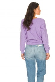 American Vintage |  Lined T-shirt Sonoma | purple  | Picture 6