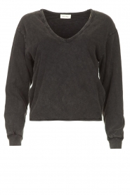 American Vintage |  Lined T-shirt Sonoma | dark grey  | Picture 1