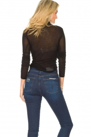 American Vintage |  Cotton top with turtle neck Massachusetts | black  | Picture 6