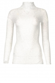 American Vintage |  Cotton top with turtle neck Massachusetts | grey  | Picture 1