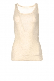 American Vintage |  Sleeveless cotton top Massachusetts | natural  | Picture 1