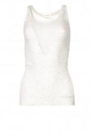 American Vintage |  Sleeveless cotton top Massachusetts | grey  | Picture 1