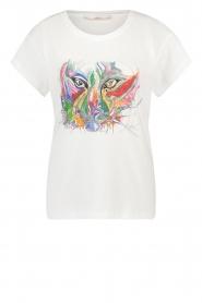Aaiko |  Aaiko x Alex T-shirt Avery | white  | Picture 1