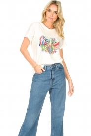 Aaiko |  Aaiko x Alex T-shirt Avery | white  | Picture 2