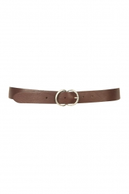 The Kaia    Leather belt Jane   brown    Picture 1