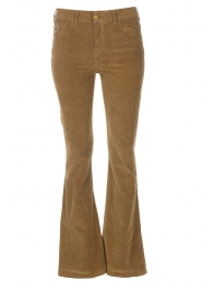 Lois Jeans |  High waisted flared pants Raval L34 | beige  | Picture 1