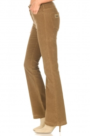 Lois Jeans |  High waisted flared pants Raval L34 | beige  | Picture 5