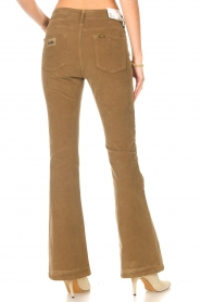 Lois Jeans |  High waisted flared pants Raval L34 | beige  | Picture 6