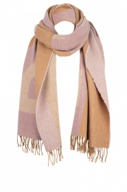 Dante 6 |  Scarf with logo D6 | beige  | Picture 1