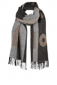 Dante 6 |  Scarf with logo D6 | black  | Picture 1