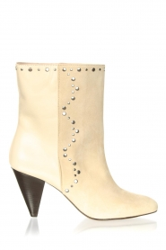 Aaiko |  Ankle boots with studs Lille | natural  | Picture 1