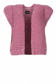 Kiro by Kim    Knitted waistcoast Leanne   pink    Picture 1