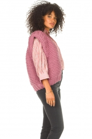 Kiro by Kim    Knitted waistcoast Leanne   pink    Picture 6