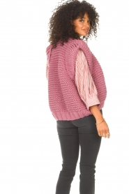 Kiro by Kim    Knitted waistcoast Leanne   pink    Picture 7