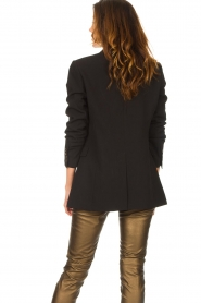 Aaiko |  Blazer with statement buttons Cena | black  | Picture 8
