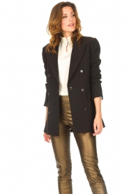 Aaiko |  Blazer with statement buttons Cena | black  | Picture 6