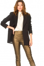 Aaiko |  Blazer with statement buttons Cena | black  | Picture 5