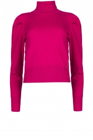 Kocca |  Turtleneck sweater Uliana | fuchsia  | Picture 1