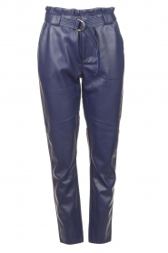 Aaiko |  Faux leather pants Pamalla | lilac  | Picture 1