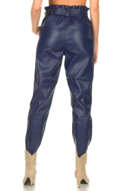 Aaiko |  Faux leather pants Pamalla | lilac  | Picture 6