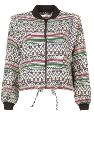 Aaiko    Aztec printed jacket Azui   multi     Picture 1