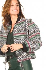 Aaiko    Aztec printed jacket Azui   multi     Picture 8