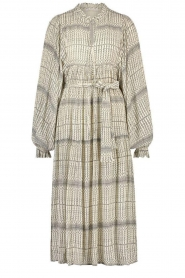 Freebird |  Midi dress with print Mabel | natural  | Picture 1