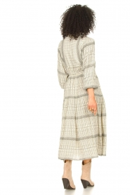 Freebird |  Midi dress with print Mabel | natural  | Picture 6