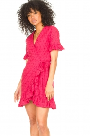 Freebird |  Wrapped dress Rosy | pink  | Picture 2