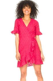 Freebird |  Wrapped dress Rosy | pink  | Picture 4