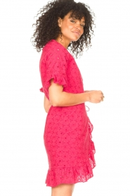 Freebird |  Wrapped dress Rosy | pink  | Picture 6