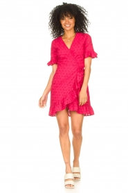 Freebird |  Wrapped dress Rosy | pink  | Picture 3