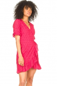 Freebird |  Wrapped dress Rosy | pink  | Picture 5