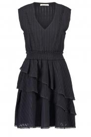 Freebird | Katoenen jurk Kyona | zwart  | Afbeelding 1