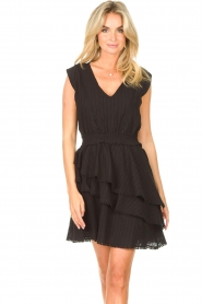 Freebird | Katoenen jurk Kyona | zwart  | Afbeelding 5