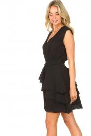 Freebird | Katoenen jurk Kyona | zwart  | Afbeelding 6