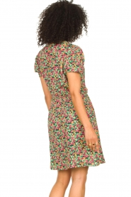Freebird |  Dress with floral print Pimmy | green  | Picture 6
