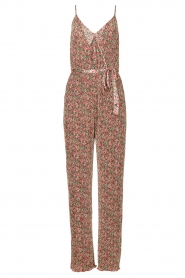 Freebird |  Jumpsuit with floral print Baily | pink  | Picture 1