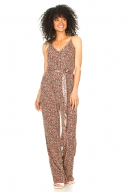 Freebird |  Jumpsuit with floral print Baily | pink  | Picture 4