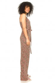 Freebird |  Jumpsuit with floral print Baily | pink  | Picture 5