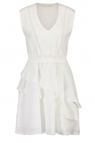Freebird |  Cotton dress with Kyona | off white  | Picture 1