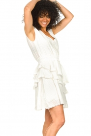 Freebird |  Cotton dress with Kyona | off white  | Picture 4