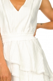 Freebird |  Cotton dress with Kyona | off white  | Picture 8