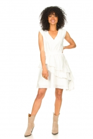 Freebird |  Cotton dress with Kyona | off white  | Picture 3