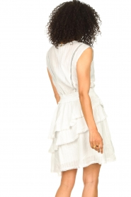 Freebird |  Cotton dress with Kyona | off white  | Picture 7