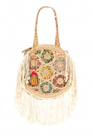Little Soho |  Round bag with fring Faye | multi  | Picture 1