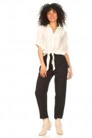 Aaiko   Transparante blouse Tanissa   naturel    Afbeelding 3